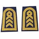 Rangschlaufen für Schulterklappen (Marine) blau mit...