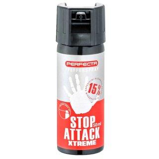 1 (eine) Dose Pfefferspray Stop Attack Xtreme von Perfecta