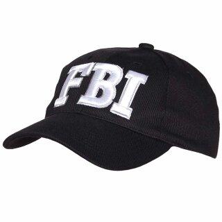 Baseball Cap FBI von Fostex Garments schwarz