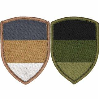 Klett-Abzeichen Deutschland-Fahne, Schild-Form