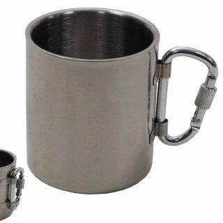 Tasse (300 ml) von Fox Outdoor  mit Karabiner