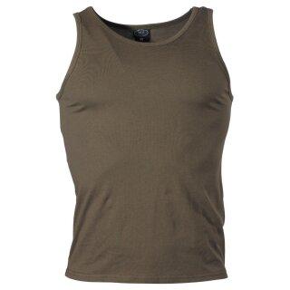 Tank-Top, Achselshirt  US oliv neu