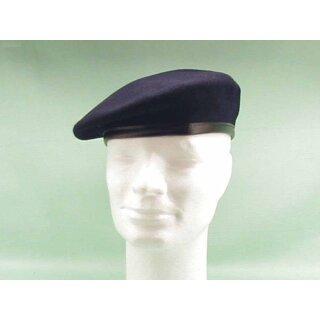 Original Bundeswehr Barett Farbe: marineblau gebraucht