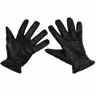 Security-Lederhandschuhe Safety von MFH  mit schnitthemmender KEVLAR-Einlage