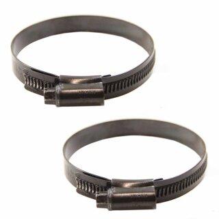 Schellen / Schlauchschellen 60-80 mm (2 Stück) Zustand: gebraucht