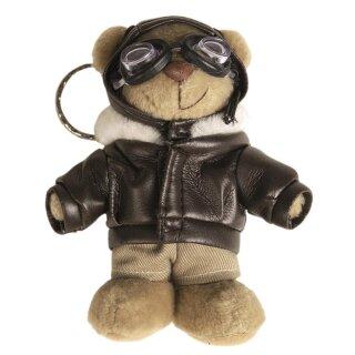Schlüsselanhänger Teddy-Pilot