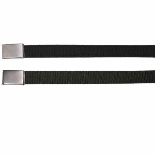 Gürtel mit Metallklappschloß von MFH (Breite 32 mm)