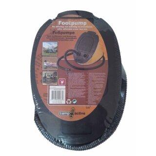 Fußpumpe, Blasebalg, Luftpumpe, zum Aufblasen und Entleeren von Luftmatrazen, Gummiboot,  Schwimmutensilien etc.