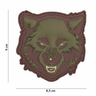 Wolf grün #9054
