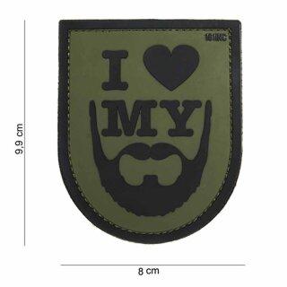 I love my Beard grün