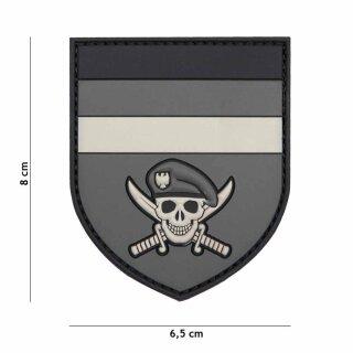 German Skull grau #2067