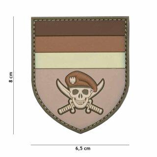 German Skull braun #2096