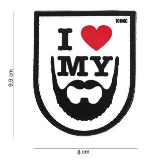 I love my Beard weiß